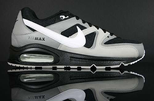 Nike Air Max Command Black White Medium Grey Sneakers 397689-090