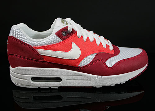 Nike Air Max 1 Legacy Red White Khaki Dark Brown Sneakers 308866-602