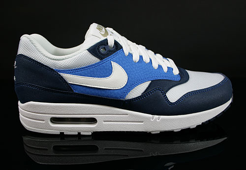 Nike Air Max 1 Midnight Navy White Soar Khaki Sneakers 308866-407
