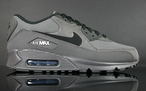 Nike Air Max 90 Midnight Fog Black White Sneakers 325018-032
