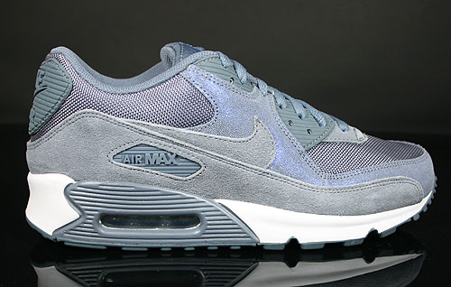 Nike WMNS Air Max 90 Blue Dusk Blue Dusk White Sneakers 325213-403