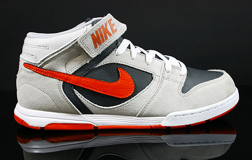 Nike Air Twilight Mid Neutral Grey Team Orange Anthracite White Sneakers 343664-080