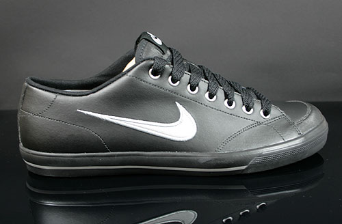 Nike Capri Black Metallic Silver Sneakers 314951-017