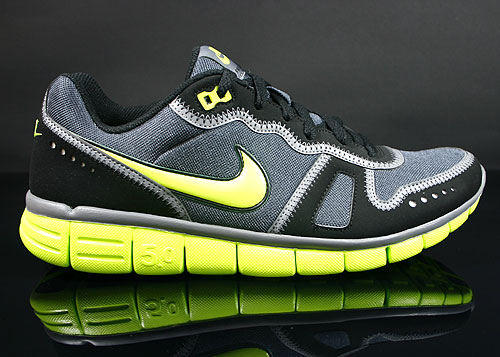 Nike Free Waffle AC Anthracite Cyber Cool Grey Black Sneakers 443913-030