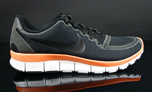 Nike WMNS Free 5.0 V4 Black White Melon Crush Sneakers 511281-016