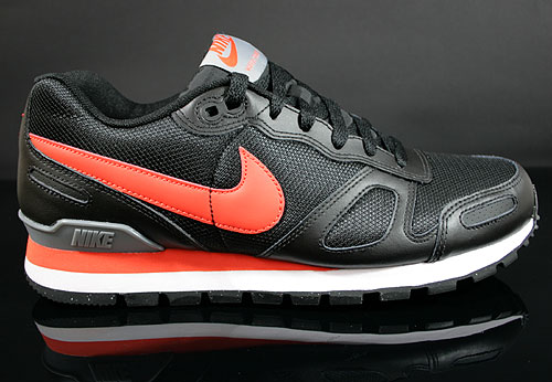 Nike Air Waffle Trainer Black Team Orange White Grey Sneakers 429628-080