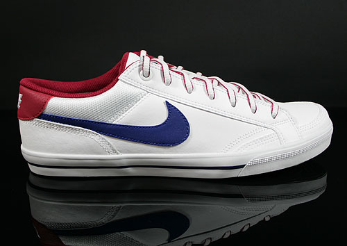 Nike Capri 2 White Deep Royal Blue Legacy Red Sneakers 407984-146