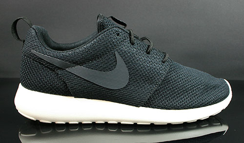 Nike Roshe Run Black Anthracite Sail Sneakers 511881-010