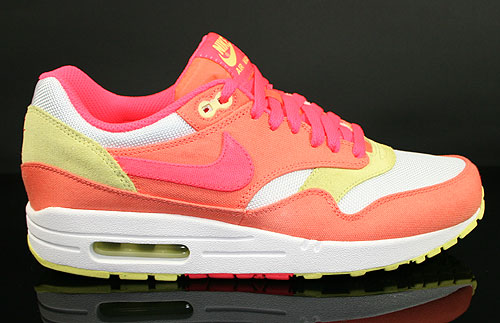Nike WMNS Air Max 1 Melon Crush Hot Punch White Yellow Diamond Sneakers 319986-801