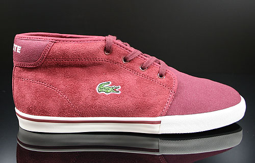Lacoste Ampthill TBC SPM Dark Red Sneakers 7-25SPM4042DR2