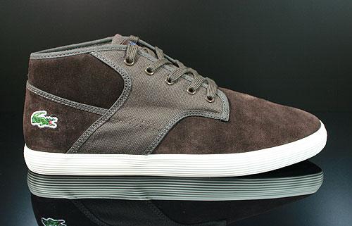 Lacoste Andover Mid CIW SPM LTH CNV Dark Brown Sneakers 7-24SPM2047DB2
