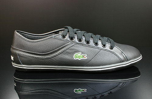 Lacoste Cairon PS SPM LTH Black Dark Grey Sneakers 7-24SPM1252237