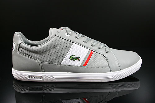 Lacoste Europa CRE SPM LTH Grey White Sneakers 7-25SPM400325Y