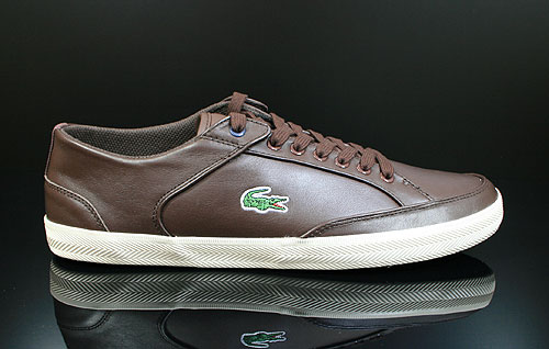 Lacoste Haneda CI SPM LTH Dark Brown Off White Sneakers 7-24SPM12481W7