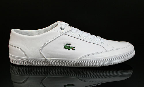 Lacoste Haneda CI SPM LTH White Dark Red Sneakers 7-24SPM12481Y8