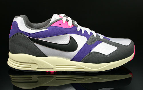 Nike Air Base 2 Vintage White Black Dark Grey Court Purple Sneakers 554706-156