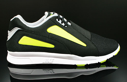 Nike Air Current Black Wolf Grey Volt Sneakers 518161-010