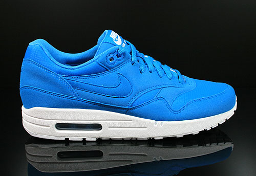 Nike Air Max 1 Dynamic Blue White Sneakers 308866-444