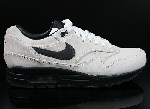 Nike Air Max 1 Premium Summit White Black Sneakers 512033-100