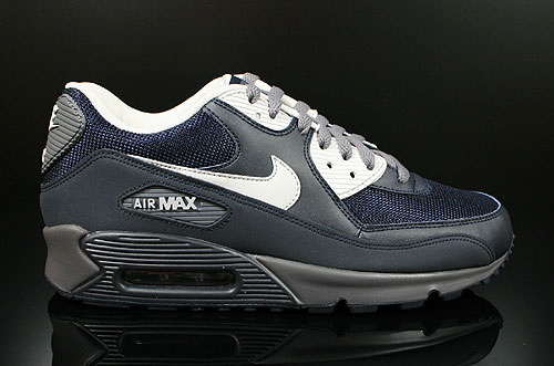 Nike Air Max 90 Dark Obsidian Neutral Grey Dark Grey Sneakers 537384-400