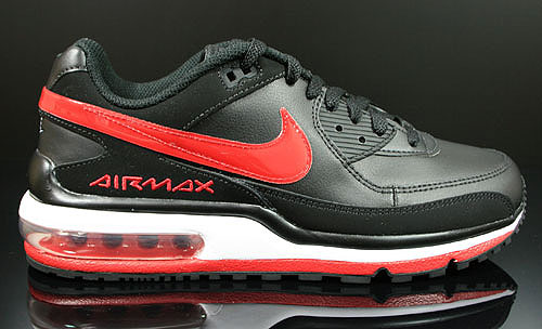 Nike Air Max LTD 2 Black Gym Red White Sneakers 316391-061