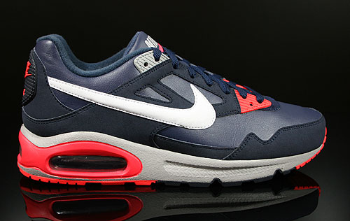 Nike Air Max Skyline EU Midnight Navy White Crimson Sneakers 343902-406