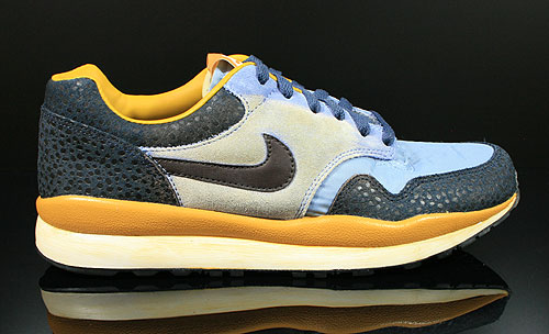 Nike Air Safari Vintage Blue Black Thunder Blue Gold Sneakers 525245-226
