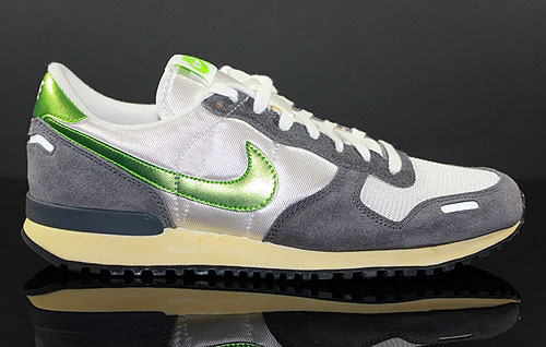 Nike Air Vortex Vintage White Action Green Dark Grey Sneaker 429773-130