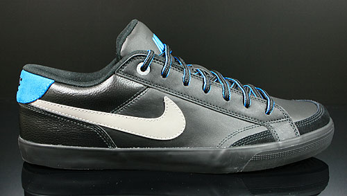 Nike Capri 2 Black Grey Dynamic Blue Sneakers 407984-011