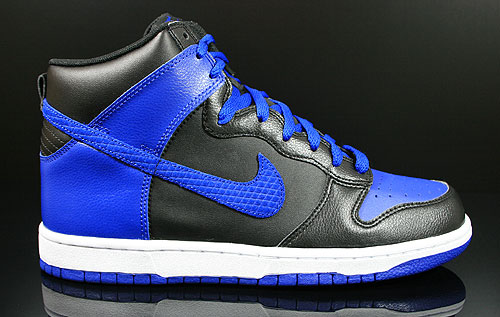 Nike Dunk High Black Old Royal White 317982-049