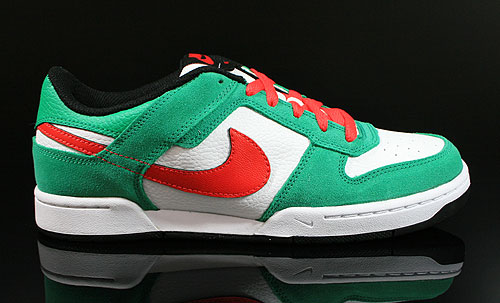 Nike Renzo 2 Green Red White Black Sneakers 454291-301