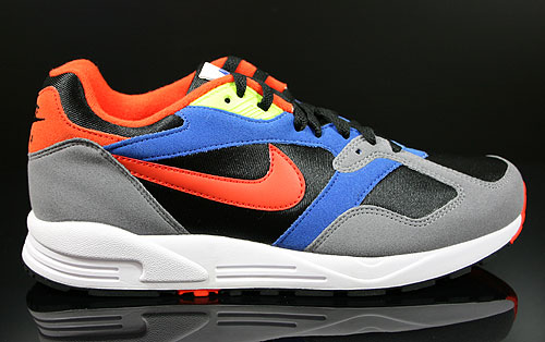 Nike Air Base 2 Black Team Orange Cool Grey Game Royal Sneakers 554705-083