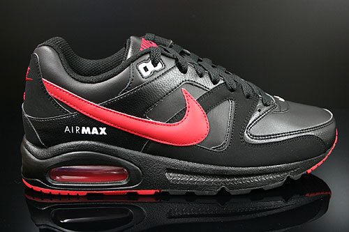 Nike Air Max Command Black Gym Red White Sneakers 397689-061