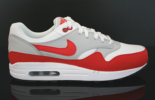 Nike Air Max 1 (GS) White Pimento Black Grey