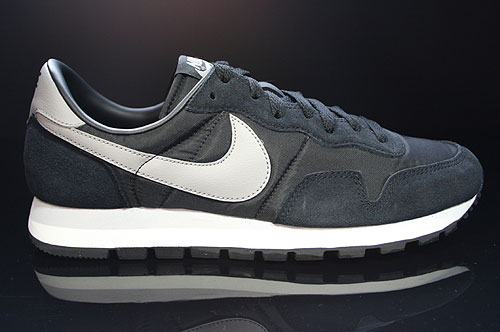 Nike Air Pegasus 83 Black Medium Grey Neutral Grey Sail Sneakers 599124-002