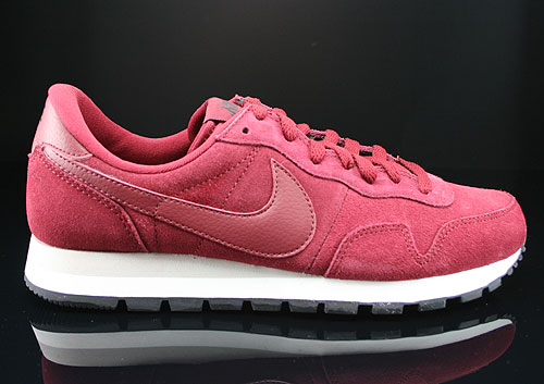 Nike Air Pegasus 83 Suede Team Red Mortar Black Sneakers 599129-660