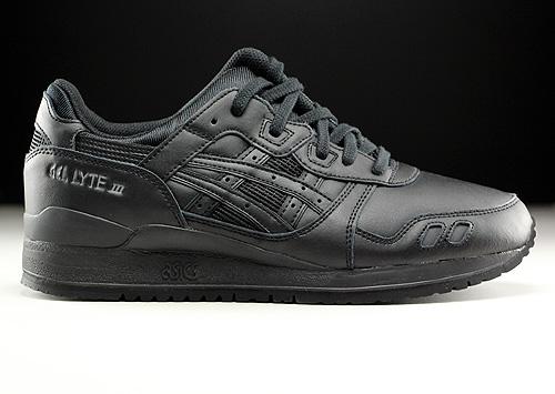 Asics Gel Lyte III Black Black Sneakers H534L-9090