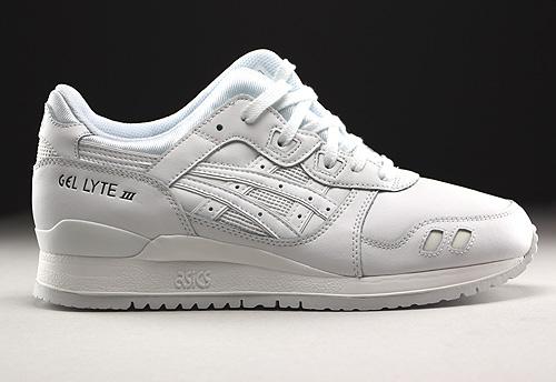 Asics Gel Lyte III White White Sneakers H534L-0101