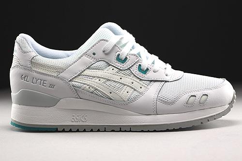 Asics Gel Lyte III White White Sneakers H5B4N-0101