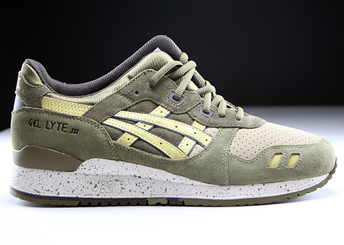 Asics Gel Lyte III Olive Sunshine Sneakers H513L-8696