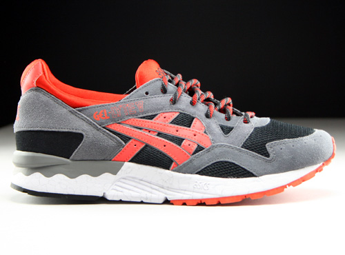 Asics Gel Lyte V Black Orange.com Sneakers H515L-9030
