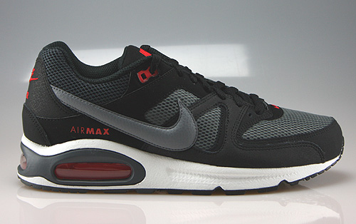 Nike Air Max Command Black Cool Grey Dark Grey Chilling Red Sneakers 629993-096