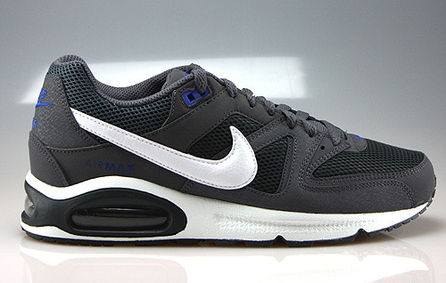 Nike Air Max Command Dark Grey White Anthracite Lyon Blue Sneakers 629993-011