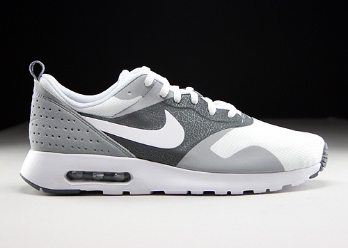 Nike Air Max Tavas White Cool Grey Wolf Grey Sneakers 705149-100