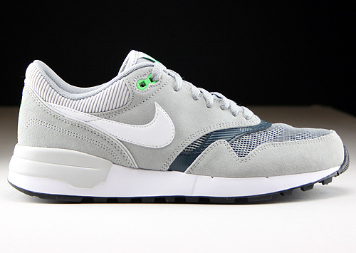 Nike Air Odyssey Silver White Classic Charcoal Sneakers 652989-009