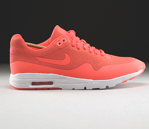 Nike WMNS Air Max 1 Ultra Moire Hot Lava Hot Lava White Sneakers 704995-800