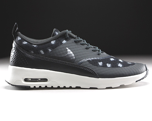 Nike WMNS Air Max Thea Print Black Dark Grey Anthracite Wolf Grey Sneakers 599408-008