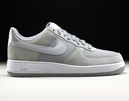 Nike Air Force 1 Low Wolf Grey Pure Platinum White 488298