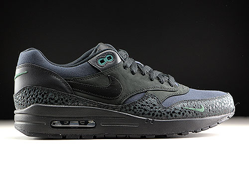 best loved e2b32 48e52 Nike Air Max 1 Premium Black Black Bonsai 512033-030 - Purch