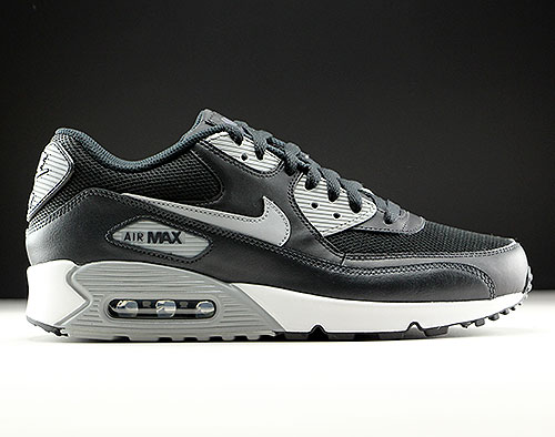 dad917fc3c5718 Nike Air Max 90 Essential Black Wolf Grey Anthracite White - Purchaze